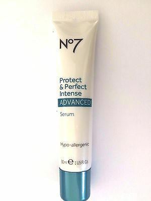 No 7 Protect And Perfect Intense Advanced Serum 30ml Anti Ageing No7 RRP £26