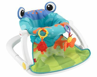 Foldable Frog Baby Seater Removable & Machine Washable Sit Me Up Floor Seat Pad