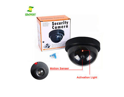 Mini Fake Surveillanc with Red LED Simulated CCTV Security ip dome video cameras