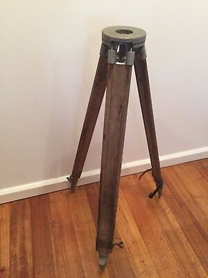 Vintage Timber And Metal Tripod