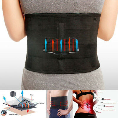 Back Support Pain Relief Lower Lumbar Brace Belt Strap