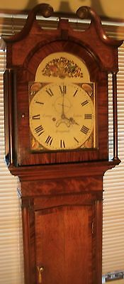 "Antique Oak "" Kingswood ""  8 Day  Longcase / Grandfather Clock"
