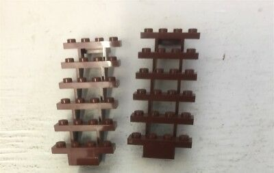 Lego 'Staircase 7 x 4 x 6 Open' (30134) Red Brown