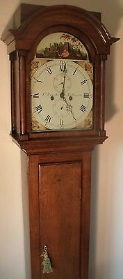 "Oak "" Automation See/saw ""  8 Day  Longcase / Grandfather Clock"