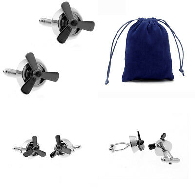 30 Styles Trendy Cufflinks With Velvet Bag TZG Cuff Links Promotion