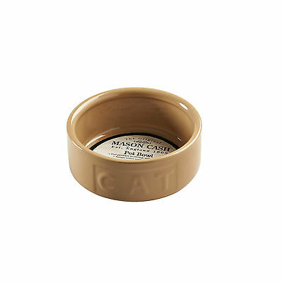 Mason Cash Cane Cat Food Bowl Lettered Cat 5""
