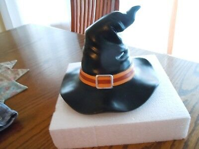 Longaberger Halloween 2012 - Winky Witch-Kin Hat - Black Resin - NIB