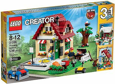 Lego Creator 31038 Changing Seasons (New) With Light Brick 3 In 1