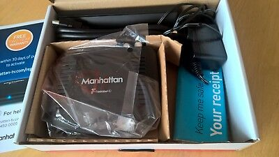 Manhattan T1 Zapper Freeview HD - Black - hardly used