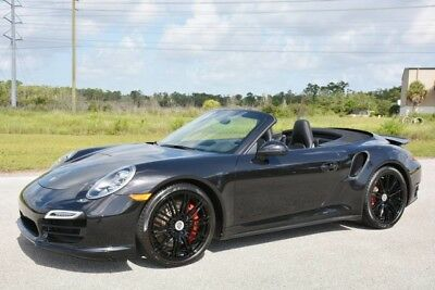 2014 Porsche 911 Turbo S Convertible 2-Door 2014 911 TURBO CABRIOLET - $167K MSRP NEW - 1 OWNER FLORIDA CAR - WARRANTY