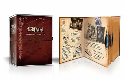 Grimm: The Complete Collection (DVD, 2017, 29-Disc Set) BOX SET