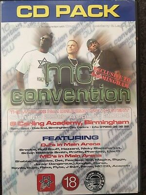 Drum And Bass Mc convention 2004 CD pack