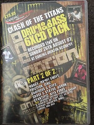 One Nation Clash of the Titans DNB cd Pack