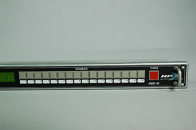 Sigma Electronics HSB-16 Video Switching Router Panel