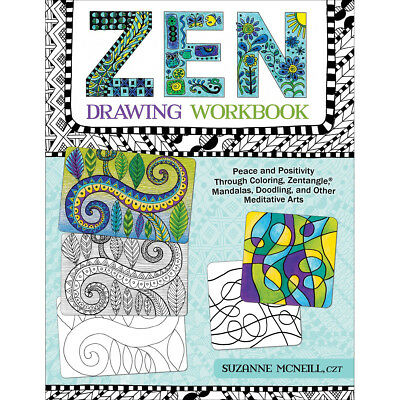 Design Originals-Zen Drawing Workbook DO-01255