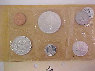 Canada 1966 Proof Like Set 6 Coins (Lots Of Silver)