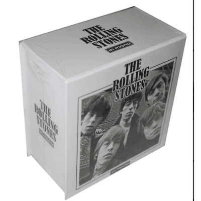 """The Rolling Stones """"In Mono"""" 15CD Collection Box Set"""