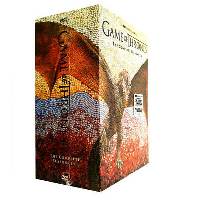 Game of Thrones: The Complete Seasons 1-6 (DVD, 2016,30-Disc)