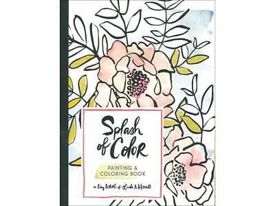 Chronicle Splash of Color Coloring Bk