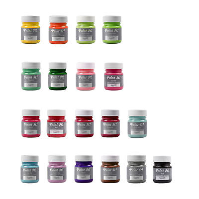 20 x Rainbow Dust Paint It Edible Food Colour Cake Icing Sugarcraft Decoration