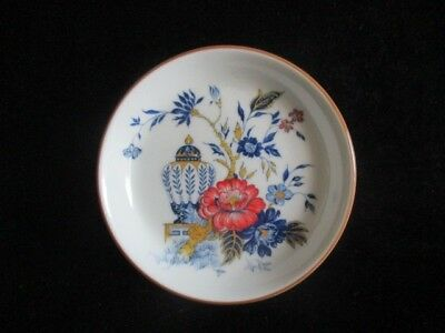 Crown Staffordshire Bone China Butter Pat Dish/Plate Penang Pattern 4 1/8""