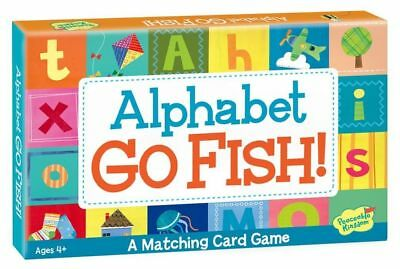 Alphabet Go Fish Match Up - Card Game by Peaceable Kingdom Press (AM3)