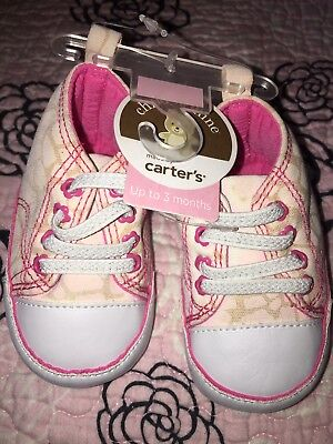 Newborn Baby Soft Sole Crib Shoes Infant Girl 0-3 months