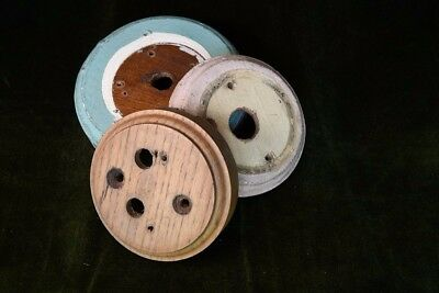 3 Edwardian Pattress Boxes for lights or switches