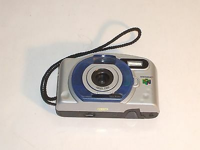 Nintendo 64 N64 35mm Camera Blue and Silver - Compact Focus Free Lightweight
