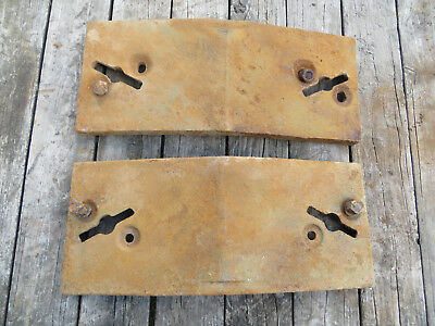 Set (2) R-27643R John Deere Tractor Front Suitcase Weights 3010 4010