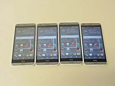 Lot of 4 HTC Desire 530 16GB T-Mobile Smartphones GSM AS-IS