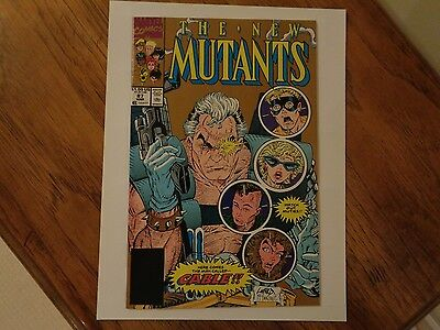 Vintage Marvel Comics New Mutants #87 First 1st Appearance Cable!!! 2nd Print
