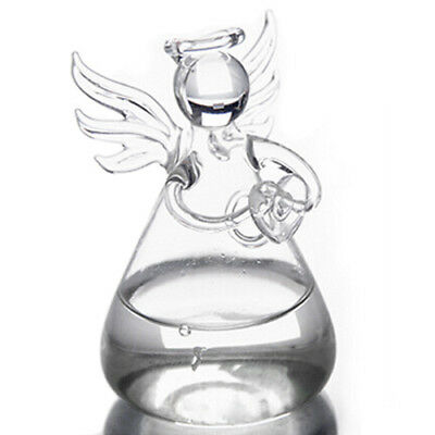 Praying Angel Vases Crystal Transparent Glass Vase Flower Containers Hydrop G3E2