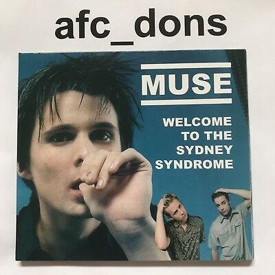 "MUSE ""Welcome To The Sydney Syndrome"" Very Rare CD. MINT condition"