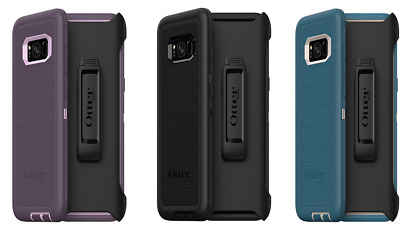 New oem Otterbox Defender Series Case for Samsung Galaxy S8 Plus With Holster