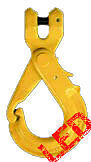 NEW industrial lifting equipment 8mm G80 Clevis Safety Hook with Grip Latch