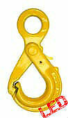 NEW industrial lifting equipment 8mm G80 Eye Safety Hook with Grip Latch