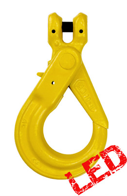 NEW industrial lifting equipment 6mm G80 Clevis Self Locking Hook