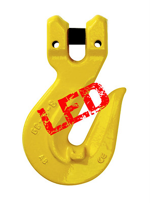 NEW industrial lifting equipment 10mm G80 Clevis Grab Hooks