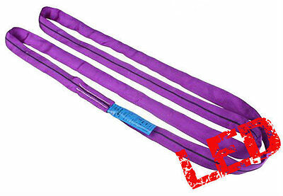 NEW industrial lifting equipment 1t x 2.5m Round Sling
