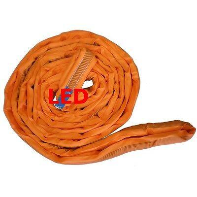 NEW industrial lifting equipment 10t x 4m Round Sling