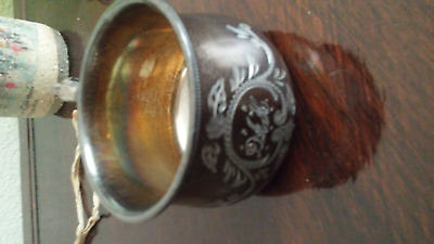1890's Engraved Victorian Silverplate Baby Or Child's Cup Forbes Silver Co.