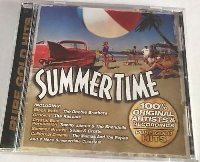 SUMMERTIME Pure Gold Hits CD AWESOME TRACK SELECTION! DISC ONLY #75A