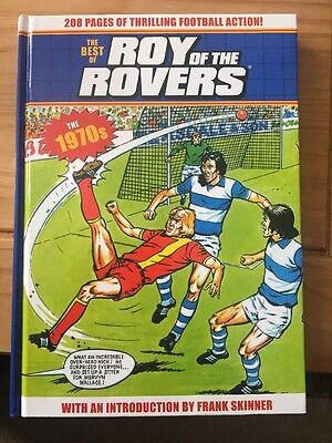 The Best Of 'Roy Of The Rovers' The 70s, Hardback A4 Size