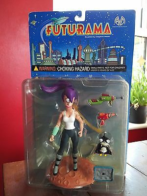 VERY Rare Futurama 6'' Leela & Nibbler Toyfare Exclusive + Accessories