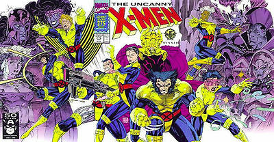 1991 The Uncanny X-Men #275 Marvel Jim Lee 1st Print 275th Issue Gatefold Cover