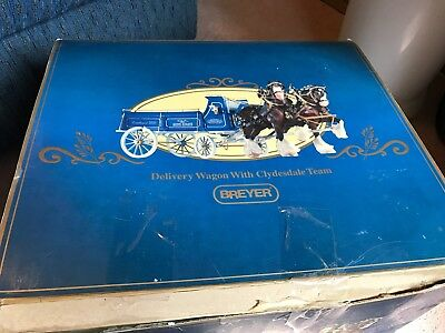 Breyer Classic Delivery Wagon Set (Wagon/Harnesses Only)