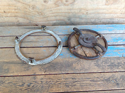 Very Cool Antique Wooden Porthole Hatch
