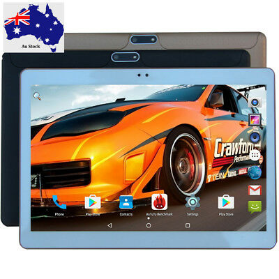 10.1 inch Android Tablet 7.0 4GB RAM 32GB ROM Octa Core 3/4G Wifi  +Leather case