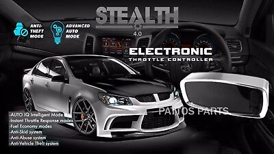 STEALTH 4.0 Throttle Controller METAL EDITION Holden Commodore VE V6 Accelerator